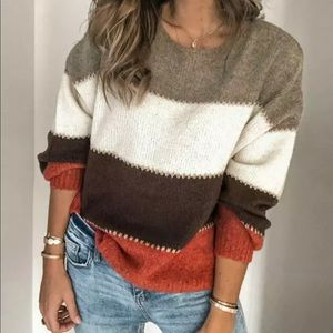 Sweaters - COMING SOON🎉 Fall Autumn Striped Cozy Sweater